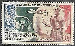 New Caledonia   1949   Sc#C24   10f   UPU  MNH   2016 Scott Value $8.25 - Airmail
