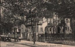 ! Alte Ansichtskarte Berlin Villenkolonie Nikolassee, Villa Degebrodt, Burgunder Straße, Zehlendorf 1913 - Zehlendorf
