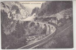 Albulabahn Und Schynstrasse - 1925 - GR Grisons