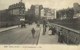 PARIS (XVIIIe) Le Pont Caulaincourt Pub Cirque Medrano    RV - District 18