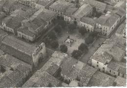 Aigues Mortes Aerienne Clarion  église Place Peu Courante - Aigues-Mortes
