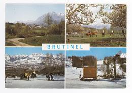 05 Brutinel Vers Gap N°545 Vue Générale Etrier Du Champsaur Fil Neige De Villard De Laye Remonte Pente Chevaux Chien Ski - Gap