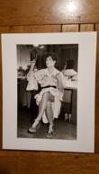 COLETTE RENARD VICHY DANCING GRANDE PHOTO DE PRESSE ARGENTIQUE 30 X 24 CM - Célébrités