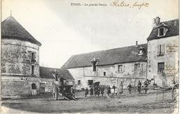 Epiais (Loir Et Cher) Intérieur De La Grande Ferme, Tour - Cliché Godefroy, Edition Bled - Francia