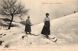 L'hiver Dans Les Vosges - Nos Skieuses Se Livrant Sur Les Hautes-vosges à Leur Sport Favori - Non Classés