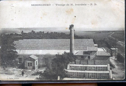 SEBONCOURT USINE TISSAGE - Frankrijk