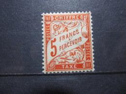 VEND BEAU TIMBRE TAXE DE FRANCE N° 66 , XX !!! - 1859-1955 Neufs