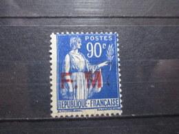 VEND BEAU TIMBRE DE FRANCHISE MILITAIRE DE FRANCE N° 9 , SURCHARGE DEFECTUEUSE , XX !!! - Autres