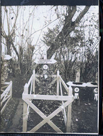 SEBONCOURT CIMETIERE MILITAIRE  DEMIE CARTE TOMBE EMILE MARGAILLAN ADJUDANT DU 55 EM RI MARSEILLE - Francia