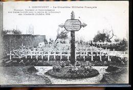 SEBONCOURT CIMETIERE MILITAIRE - Francia
