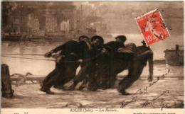51bth 1332 CPA - MUSEE DU LUXEMBOURG - ADLER - LES HALEURS - Peintures & Tableaux