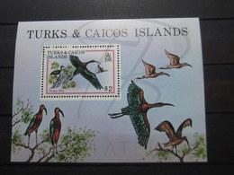 VEND BEAU BLOC FEUILET DE TURKS & CAICOS N° 21 , XX !!! - Turks And Caicos