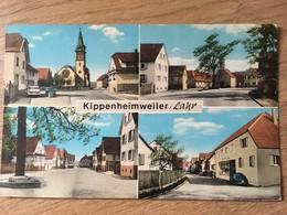 CPSM , Kippenheimweiler / Lahr, Multivues (Postkarte Mit Mehreren Ansichten), écrite,éd Theo Louze - Lahr