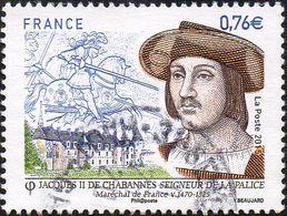 Oblitération Cachet à Date Sur Timbre De France N° 4955 - Jacques II De Chabannes - - Frankreich