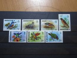 VEND BEAUX TIMBRES DE DOMINIQUE N° 478 - 484 , XX !!! - Dominica (1978-...)