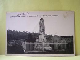 MOUTERRE-SUR-BLOURDE (VIENNE) LE MONUMENT AUX MORTS DE LA GRANDE GUERRE 1914-1918 - Francia