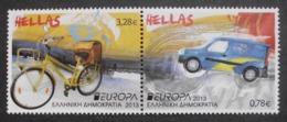 Griechenland    Europa  Cept   Postfahrzeuge     2013 ** - 2013