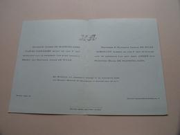Hilda De MAERTELAERE & André De WULF Op 22 Jan 1942 Te BAARLE - DRONGEN ( Zie / Voir Photo ) Huwelijk ! - Mariage