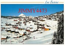 CPM - LES  SAISIES - Echappée Aérienne Sur La Station En 1995 ( Hauteluce - Canton De Ugine 73 Savoie ) - Edit. REVALP - Autres Communes