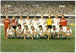 CP NANCY - Equipe De Football A.S. Nancy Lorraine ( ASNL ) - 1981 / 1982 - Nancy