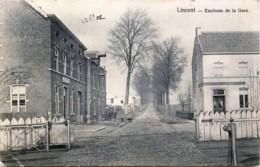 Belgique - Lincent - Environs De La Gare - Le Passage à Niveau - Lincent