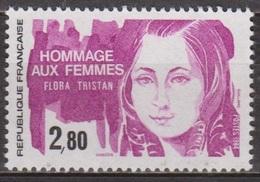 Hommage Aux Femmes - FRANCE - Flora Tristan, Femme De Lettres, Féministe - N° 2303 **  - 1984 - Nuevos