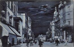 Nancy (54) - La  Nuit - La Rue Saint Georges - Nancy
