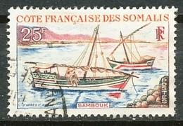 COTE FRANCAISE DES SOMALIES  - Nr 321 - 1964 - Oblitere - Costa Francese Dei Somali (1894-1967)