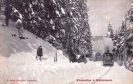25 - Doubs - De PONTARLIER A MALBUISSON - Train Vapeur - Pontarlier