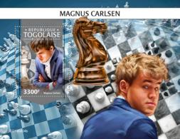 Togo 2019  Magnus Carlsen ,chess  S201911 - Togo (1960-...)