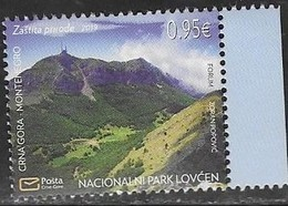 MONTENEGRO, 2019, MNH,ENVIRONMENT PROTECTION, MOUNTAINS, LOVCEN NATIONAL PARK,1v - Geology