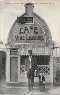 Village Des Nains, Bruxelles Exposition, Kermesse 1935, Café (Vins Liqueurs) Mlle Anna, 29 Ans - Exhibitions