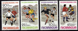 NICARAGUA  N° 1108/09  PA  912/13  * *     Cup  1978  Football  Soccer  Fussball - Copa Mundial