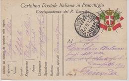 MILITARI -C - CARTOLINA - UFFICIO POSTA MILITARE 1^ DIVISIONE - Oorlog 1939-45