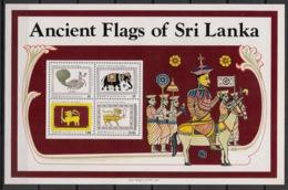 Sri Lanka - 1980 - Bloc Feuillet BF N°Yv. 12 - Drapeaux Anciens - Neuf Luxe ** / MNH / Postfrisch - Sri Lanka (Ceylan) (1948-...)