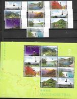 HONG KONG, 2019, MNH, HONG KONG TRAILS, MACLEHOSE TRAIL, MOUNTAINS, TREES, COWS, 10v+SHEETLET - Geologie