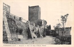 Sommières (30) - Remparts Et Tour Du Vieux Château Féodal - Francia