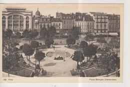 CPA-64-Pyrénées Atlantiques- PAU- Place Georges Cléménceau- - Pau