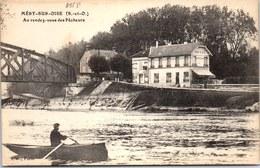 95 MERY SUR OISE - Au Rendez Vous Des Pêcheurs. - Mery Sur Oise
