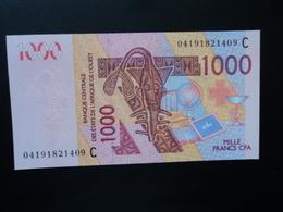 ÉTATS D'AFRIQUE DE L'OUEST : 1000 FRANCS  (20)04   P 315Cb     NEUF - Burkina Faso