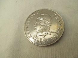 20 Francs  Polynesie 1993 Tres Proche  Du Neuf - L. 20 Franchi