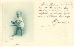Cpa Bébé , écrite 1900 ,  Photo Caprice N°76 - Andere Zeichner