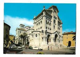 PRINCIPAUTE DE MONACO--la Cathédrale--( Voitures DS + COX +R16 + Autres )---voir 2 Scans - Saint Nicholas Cathedral