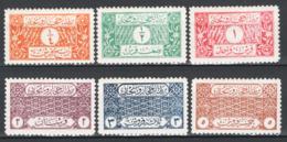 Arabia Saudita 1926  Y.T.52/57 **/MNH VF/F - Arabia Saudita