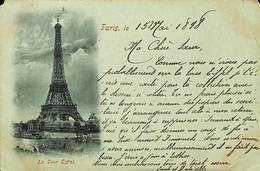 CPA - France - (75) Paris - La Tour Eiffel - France