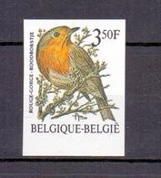 2223 Buzin Roodborstje ONGETAND   POSTFRIS** 1986 - Belgique