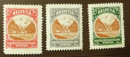 Werbemarke Cinderella Poster Stamp Helvetia Elektrizitätsstellung Nimwegen   #1772 - Cinderellas