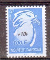 NOUVELLE CALEDONIE - 2005 - N°964  **  Le Cagou (surcharge Noir +10 F) - Nuovi