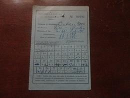 ABBONAMENTO AUTOBUS MENSILE  AUTOLINNE S.A.R.P.-PARLA-CALTANISSETTA-1975 - Week-en Maandabonnementen