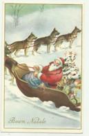 BUON NATALE CON BABBO NATALE VIAGGIATA  FP - Santa Claus